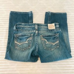 Big Star Casey Low Rise Cropped Jeans Capri 27 4